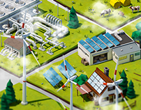 Renewable Energy Tiles