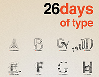 26 days of type