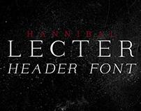 Lecter Header Font