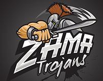 Mascot - Zama Trojans