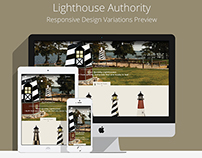 The Lighthouse Authority Logo & Website Design