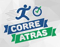 Logotipo - Corre Atrás