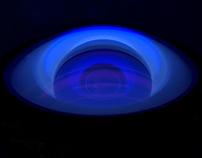 Lenses under UV light