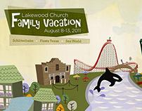 Lakewood Church Family Vacation