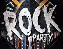 Rock Party Flyer/Poster