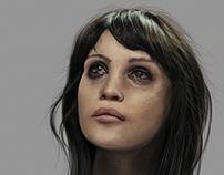 Gemma Arterton Portrait