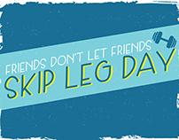 Skip Leg Day Typeface