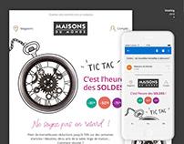 Emailing - Maison du Monde