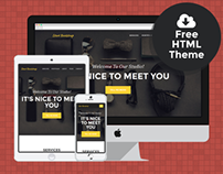 Agency - Free Bootstrap HTML Theme