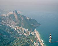 Highline in Rio de Janeiro for Red Bull