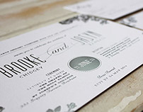 Various Letterpress Designs
