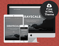 Grayscale - Free Bootstrap HTML Theme