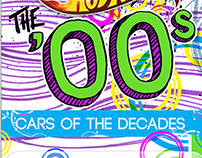 Hotwheels Cars of the Decades