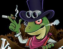 Logo + Character Vapor Grande