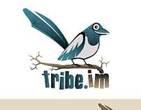 Logo + Character Tribe.im