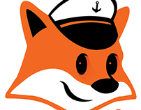 Logo + Character ShoreFox