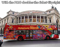 With the PMO doubles the ticket Citysightseeing