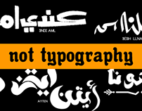 Not typography