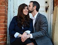 Engagement Portraits - Loren & Rachel