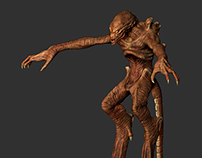 Pumpkinhead Zbrush Model