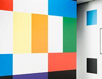 Color Square - Mural