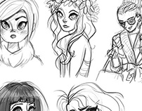 Girly sketches