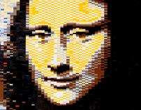 Mona Lisa (LEGOnardo da Vinci)