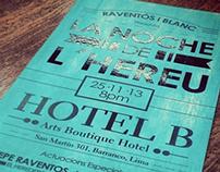 Noche del L´hereu - Hotel B