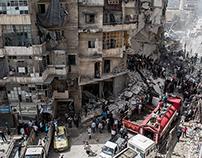 A city under fire