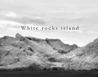White rocks island
