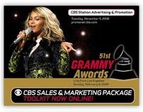CBS & Grammy Sales & Marketing Package