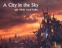 A City in the Sky - royalty free music