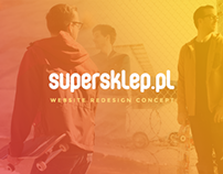 supersklep.pl Redesign concept