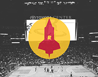 Houston Rockets Supplementary Logo Concept
