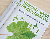 Die Grünen Eschweiler - Kommunalwahlen 2014