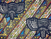 Textile designs for design firm 'Maki&Mpho'