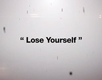 Lose Yourself - Kinetic Typography