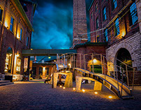 Distillery District in Toronto