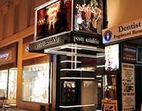 Pesti Színház, portálátalakítás