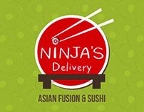 Ninja's Delivery Ad