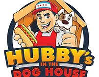 Logo + Character Hubby's in the Dog House