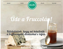 fruccola webpage redesing