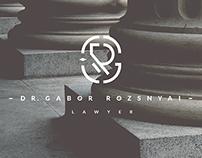 Gabor Rozsnyai logo design