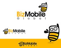 Logo + Character Biz Mobile Global