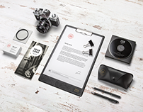 Branding / Stationery Mock-Up(Free PSD)