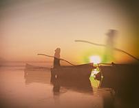 Girl in Lake