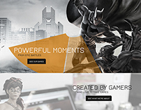 Turbine.com Redesign, WB Games Turbine