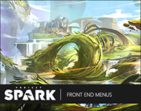 Project Spark | Front End Menus