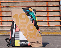 QuikSilver Backpack Packaging