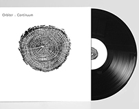 Orbiter Continuum Lp cover.